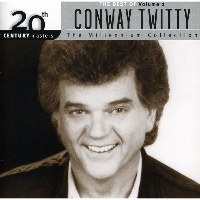 Conway Twitty 20TH CENTURY MASTERS: MILLENNIUM COLLECTION CD