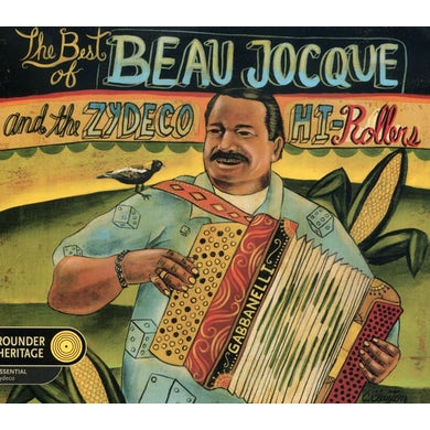 Beau Jocque & Zydeco Hi-Rollers BEST OF CD