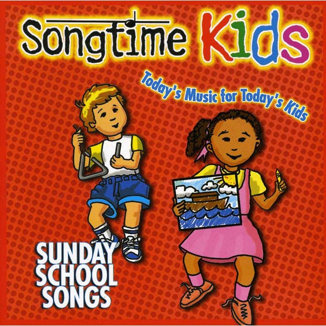 Songtime Kids SUNDAY SCHOOL SONGS CD