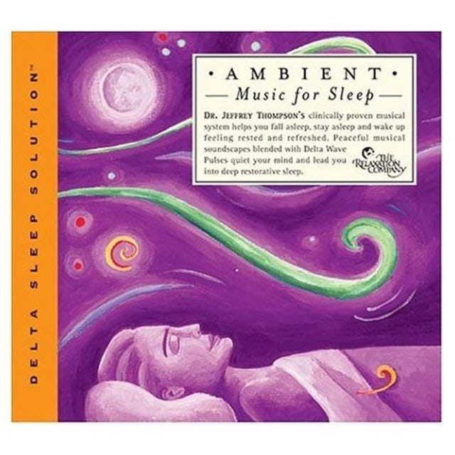 Jeffrey Thompson AMBIENT MUSIC FOR SLEEP CD
