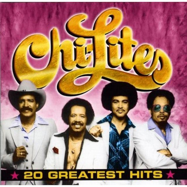 Chi-Lites 20 GREATEST HITS CD