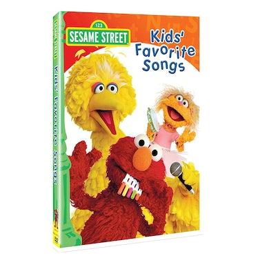Sesame Street KIDS FAVORITE SONGS DVD