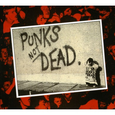 The Exploited PUNK'S NOT DEAD CD
