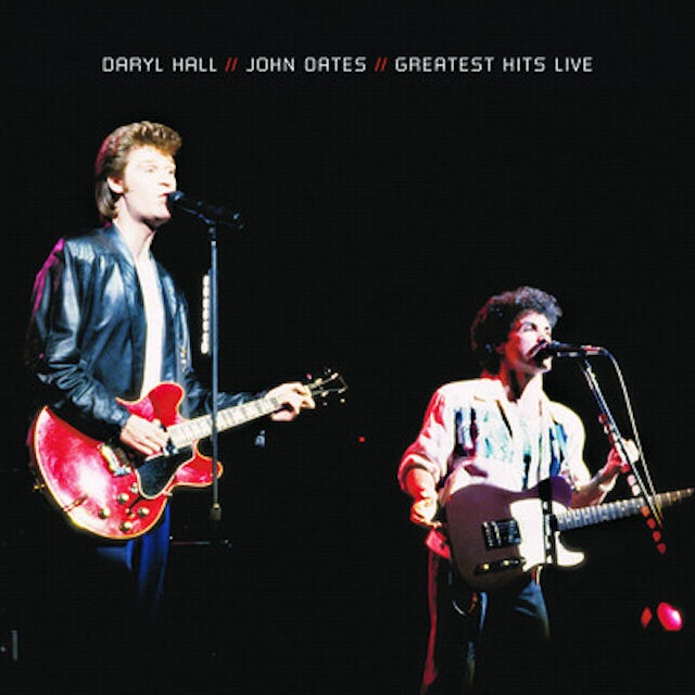 Hall & Oates GREATEST HITS LIVE CD