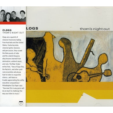 Clogs THOM'S NIGHT OUT CD