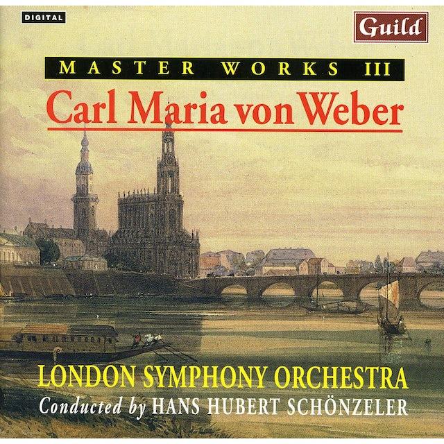MASTER WORKS III CARL MARIA VON WEBER CD