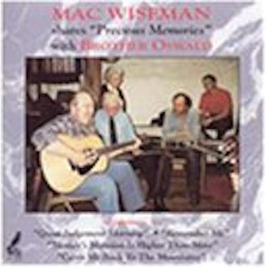 Mac Wiseman PRECIOUS MEMORIES CD