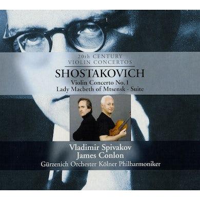 Shostakovich VIOLIN CONCERTO / LADY MACBETH CD
