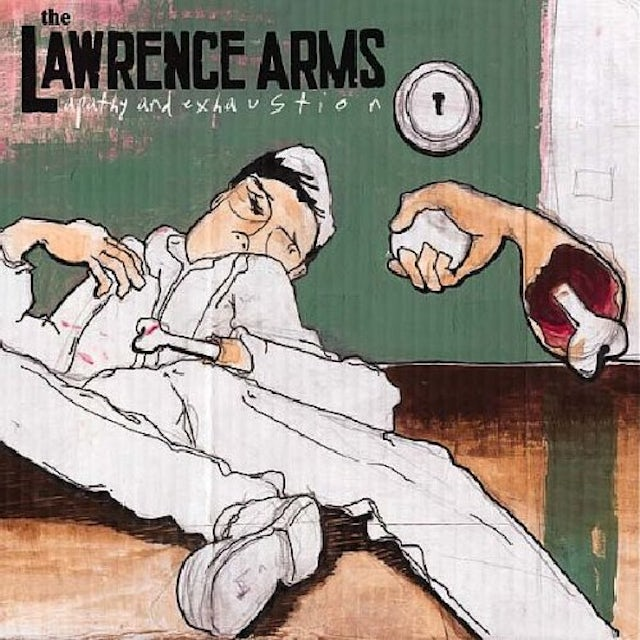 The Lawrence Arms APATHY & EXHAUSTION CD