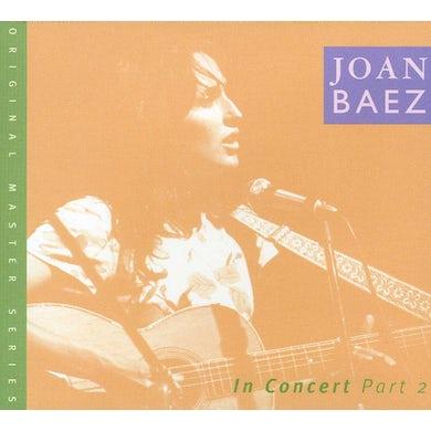 Joan Baez IN CONCERT 2 CD