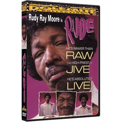 Rudy Ray Moore RUDE (1983) DVD