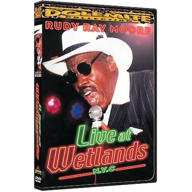 Rudy Ray Moore LIVE AT WETLANDS DVD