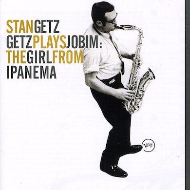 Stan Getz GETZ PLAYS JOBIM: THE GIRL FROM IPANEMA CD
