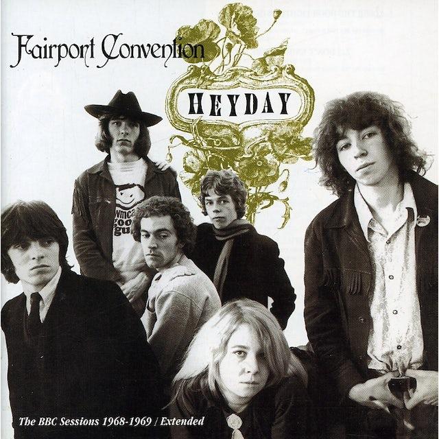Fairport Convention HEYDAY: BBC RADIO SESSIONS 1968-69 CD