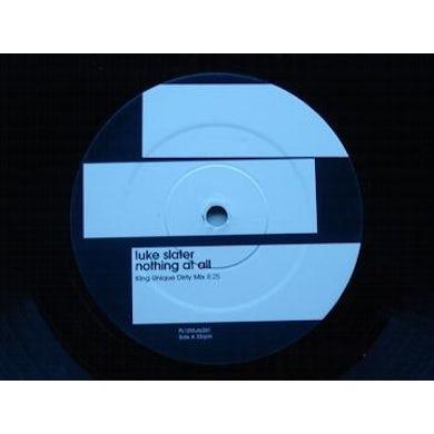 Luke Slater NOTHING AT ALL Vinyl Record