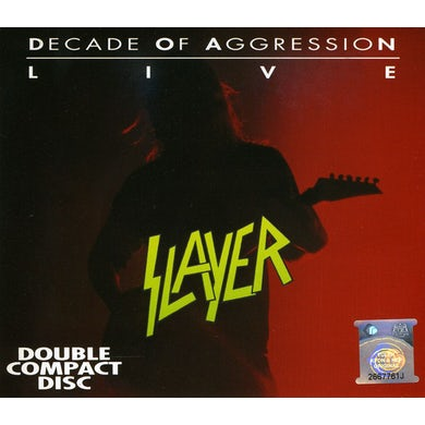 Slayer LIVE: A DECADE OF AGGRESSION CD