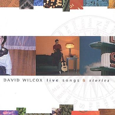 David Wilcox LIVE SONGS & STORIES CD