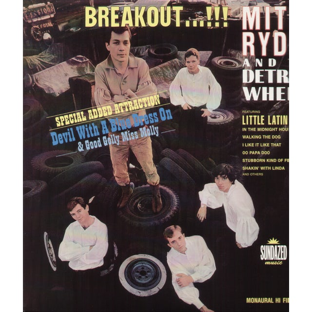 Mitch / Detroit Wheels Ryder BREAKOUT Vinyl Record