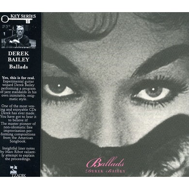 Derek Bailey BALLADS CD