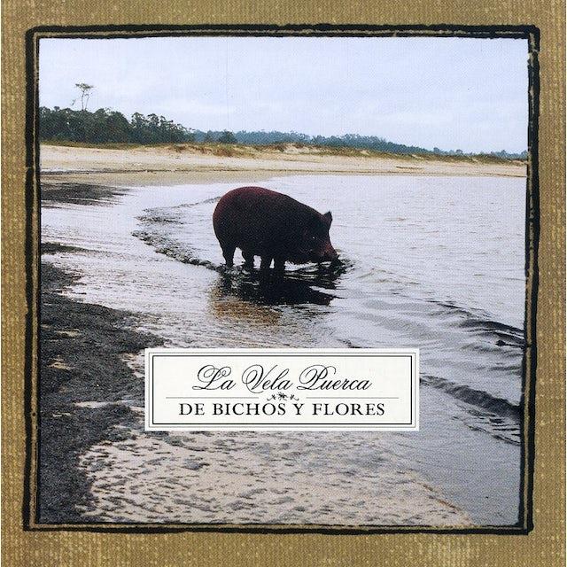 Vela puerca DE BICHOS Y FLORES CD