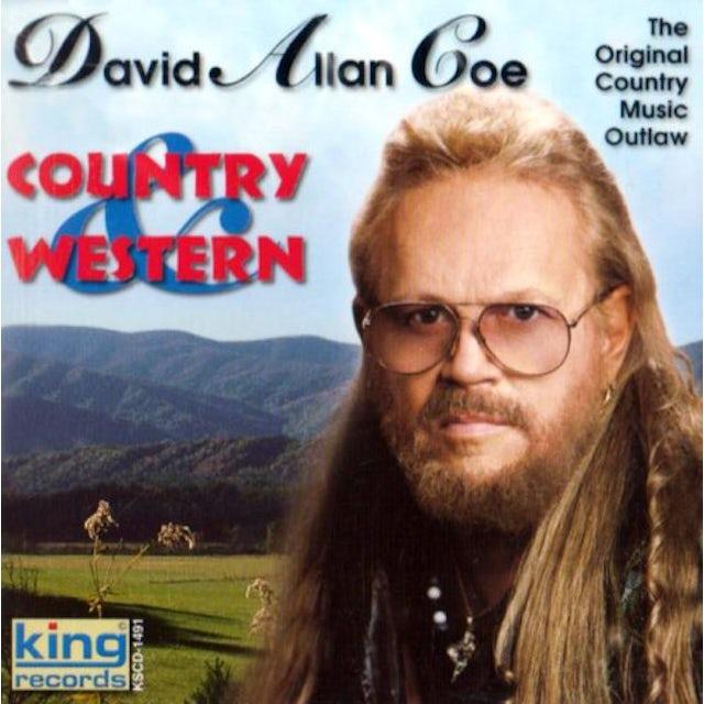David Allan Coe COUNTRY & WESTERN CD