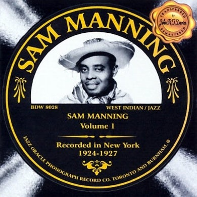 Sam Manning VOLUME 1 CD