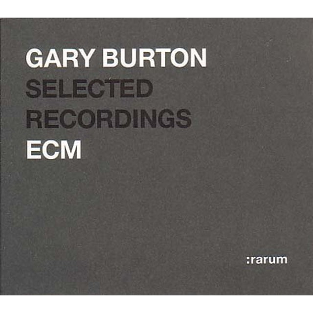 Gary Burton RARUM 4: SELECTED RECORDINGS CD