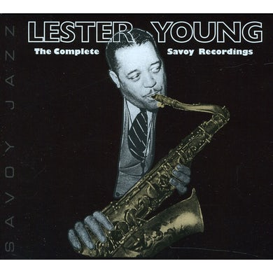 Lester Young COMPLETE SAVOY RECORDINGS CD