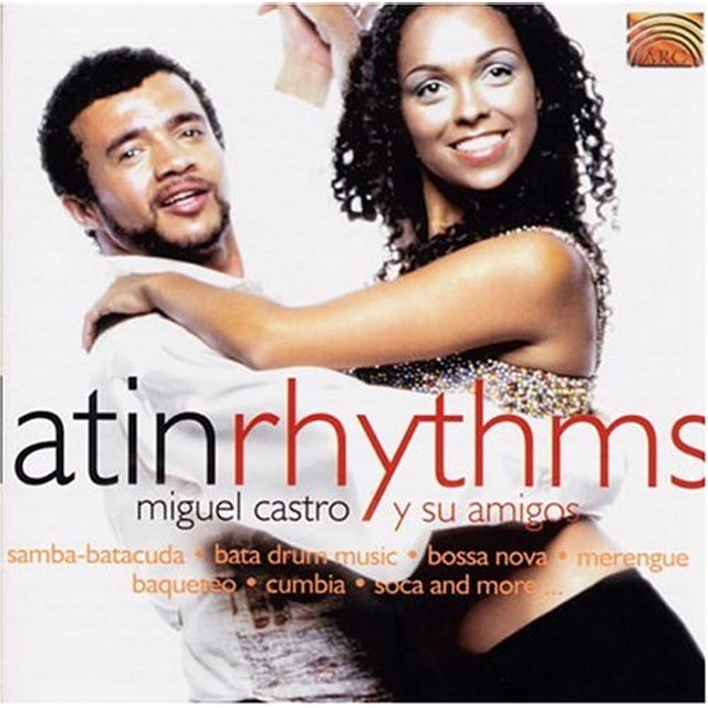 Miguel Castro LATIN RHYTHMS CD