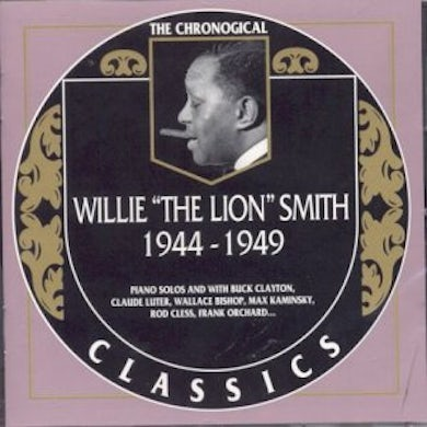 Willie The Lion Smith 1944-1949 CD
