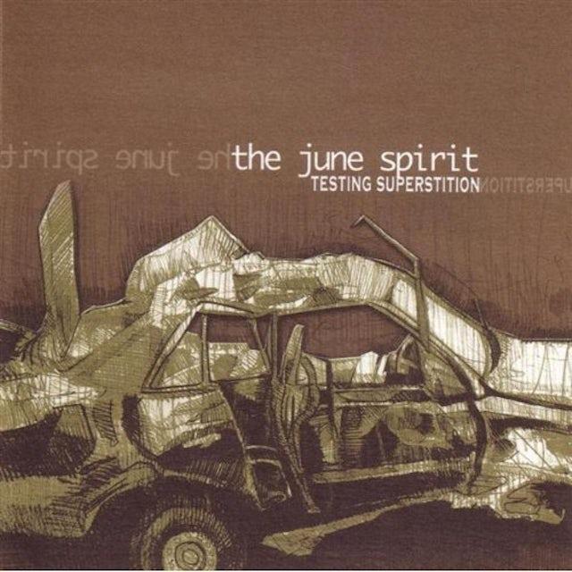 June Spirit TESTING SUPERSTITION CD