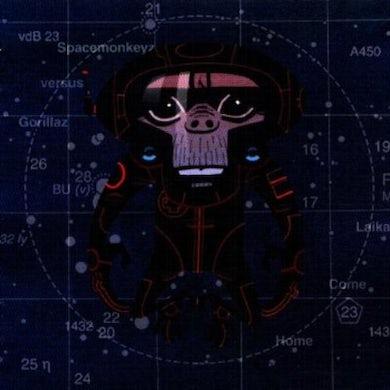 SPACE MONKEYS VS Gorillaz  LAIKA COME HOME CD