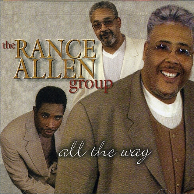 Rance Allen ALL THE WAY CD