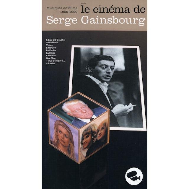 CINEMA DE SERGE GAINSBOURG CD