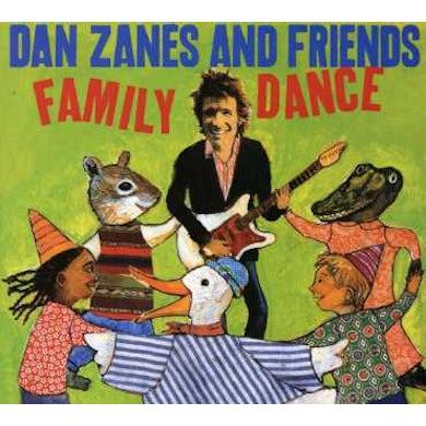 Dan Zanes FAMILY DANCE CD