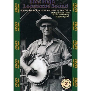 John Cohen THAT HIGH LONESOME SOUND DVD
