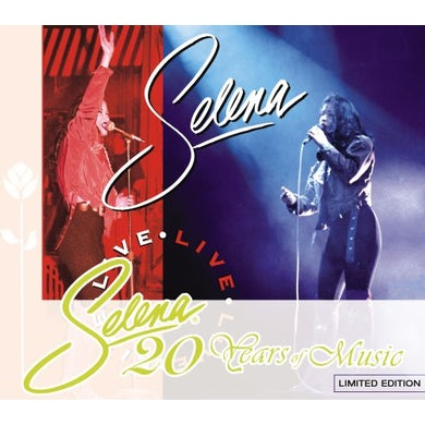 Selena LIVE CD