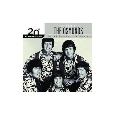Osmonds 20TH CENTURY MASTERS: MILLENNIUM COLLECTION CD