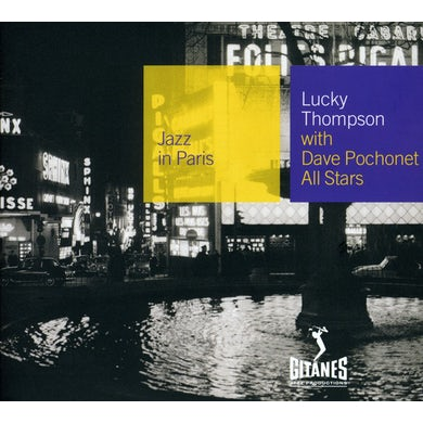 Lucky Thompson WITH DAVE POCHONET ALL STARS CD