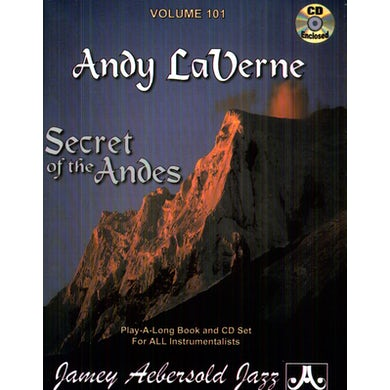 Jamey Aebersold ANDY LAVERNE: SECRET OF THE ANDES CD