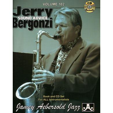 Jamey Aebersold JERRY BERGONZI: SOUND ADVICE CD