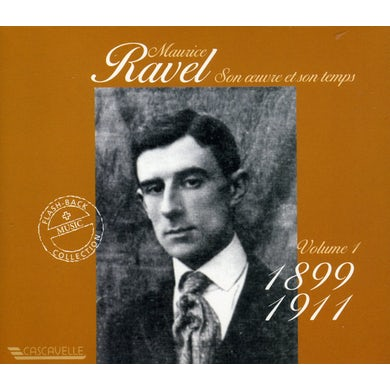Ravel HIS LIFE & WORK 1 CD