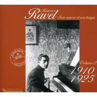 Ravel HIS LIFE & WORK 2 CD