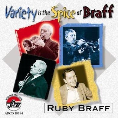 Ruby Braff VARIETY IS THE SPICE OF BRAFF CD