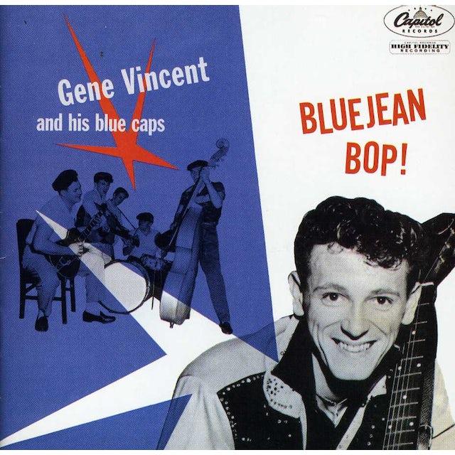 Gene Vincent & His Blue Caps BLUE JEAN BOP CD