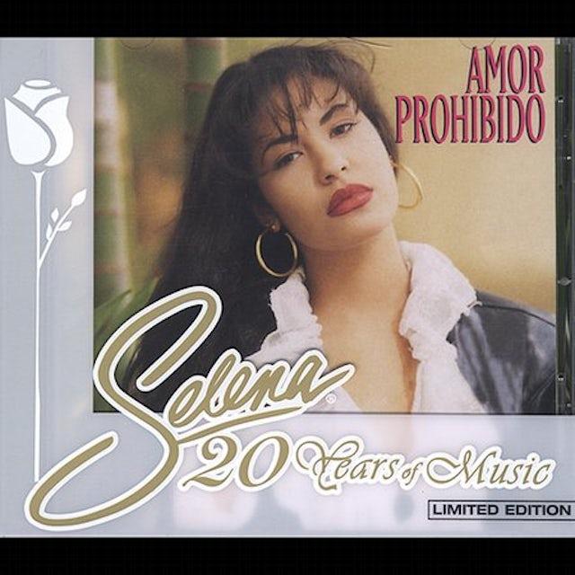 Selena AMOR PROHIBIDO CD