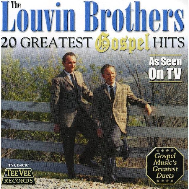 Louvin Brothers 20 GREATEST GOSPEL HITS CD