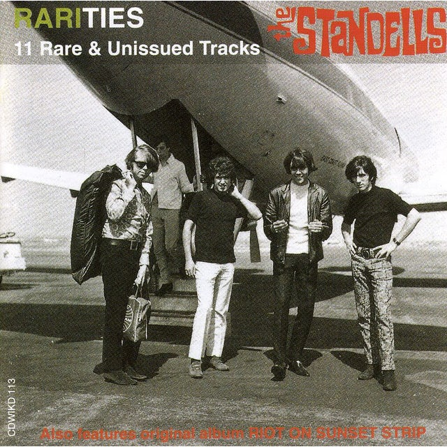 The Standells RIOT ON SUNSET STRIP / RARITIES CD