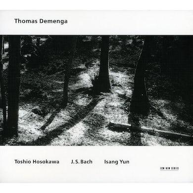 Thomas Demenga HOSOKAWA / BACH / YUN CD