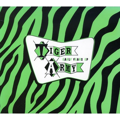 Tiger Army EARLY YEARS CD